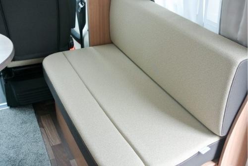 Komfortable Sitzbank