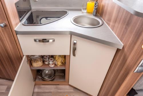 Camperbus mieten Ausstattung - Küche