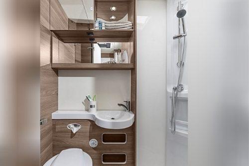 Wohnmobil mieten mit Dusche