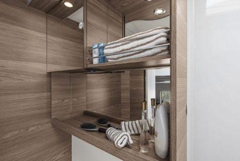 Knaus Live Wave mieten - Badezimmer
