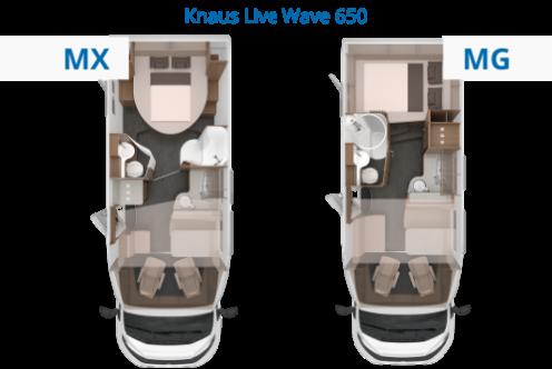 Live Wave Grundrisse