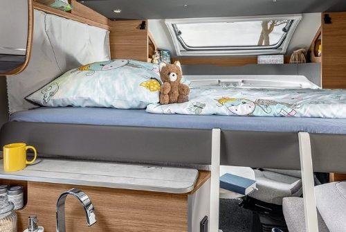 Wohnmobil in Gotha mieten mit Hubbett