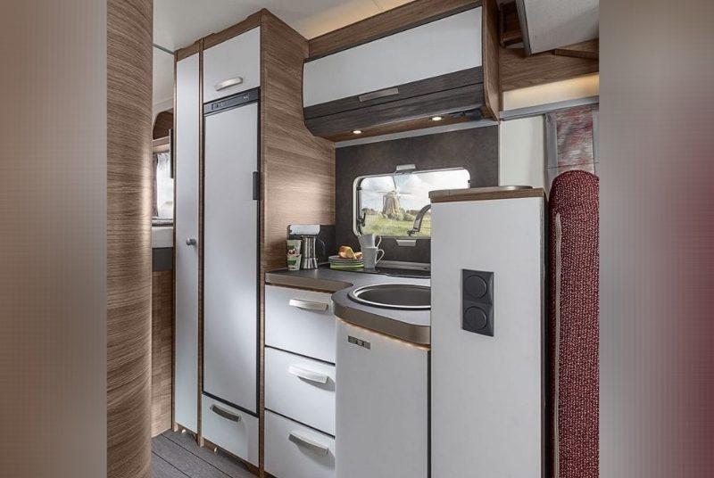 Wohnmobil Knaus Live Wave Küche